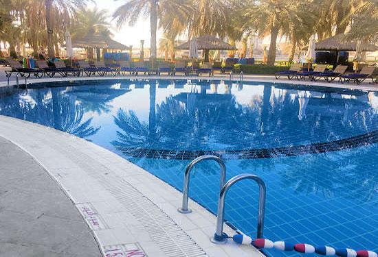 pool edge tile anti-slip treatment